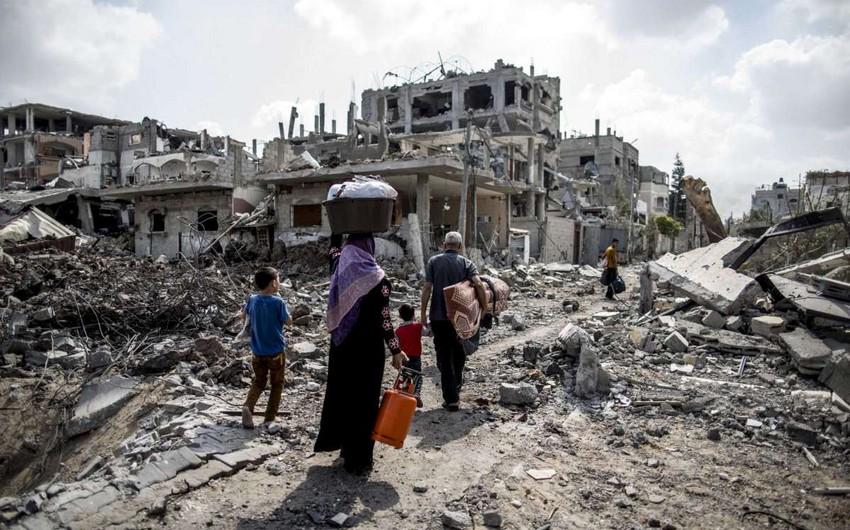 Qəzza sektorunda 227 nəfər İsrailin zərbələrinin qurbanı olub