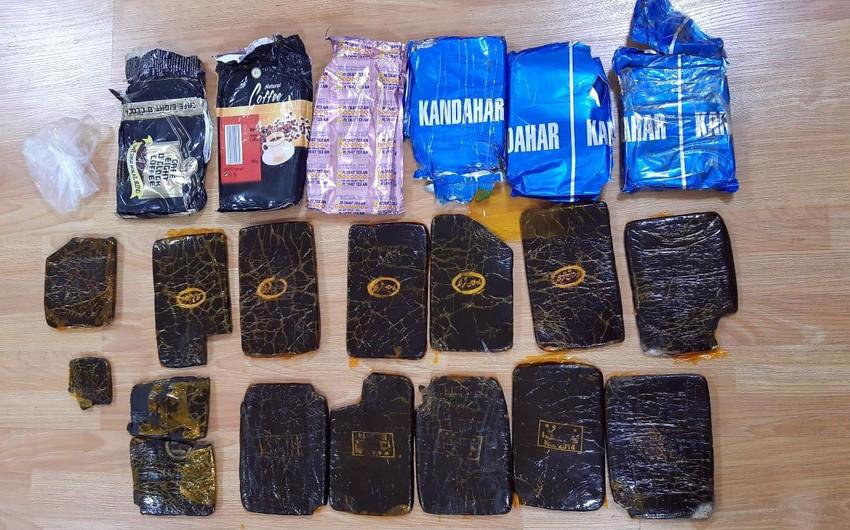 Cəlilabad polisi 5 kq-dan çox narkotiki dövriyyədən çıxarıb
