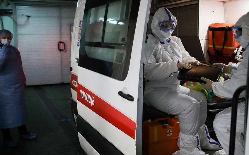 Rusiyada koronavirusa yoluxanların sayı 634,4 mini ötdü
