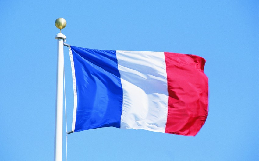 French Embassy in Azerbaijan lowered flags to half mast