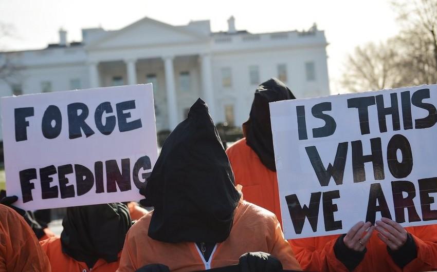 Demonstrators Rally in Washington Demanding Obama Close Guantanamo