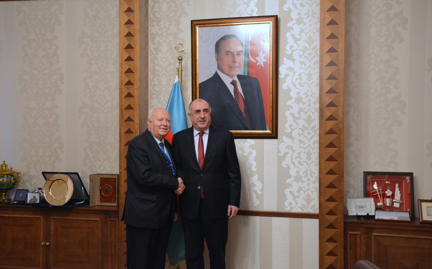 Elmar Mammadyarov met High Representative of the United Nations Alliance of Civilizations