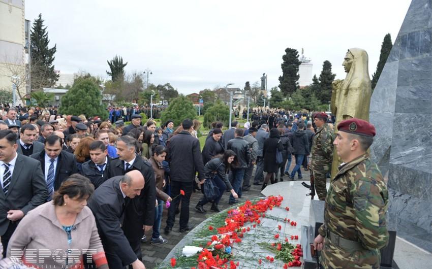 Lənkəranda Azərbaycanlıların Soyqırımı Günü qeyd olunub - FOTO