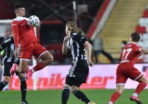 """""""Beşiktaş"""" """"Antalyaspor""""la bacarmadı"""
