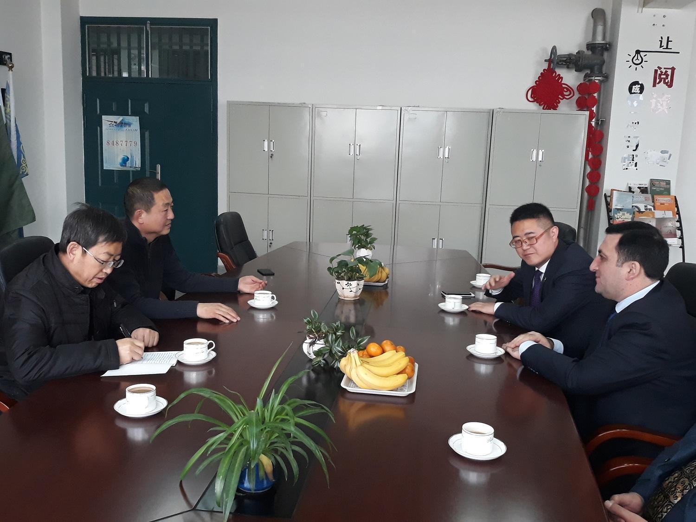 Çinin Lonqdonq Universiteti ADNSU ilə birgə layihələr həyata keçirəcək
