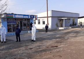 Ağstafada evdən icazəsiz çıxan koronavirus xəstəsi saxlanılıb