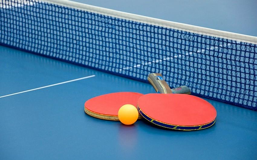 MDB Oyunları: Azərbaycanın stolüstü tennis yığması Ermənistana qalib gəlib