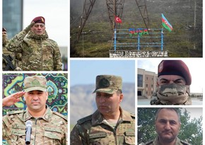 Five generals awarded medal for Liberation of Shusha