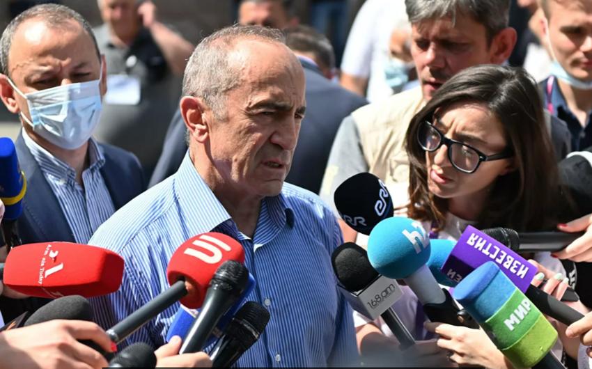 Ermənistanın keçmiş prezidenti deputat mandatından imtina etdi