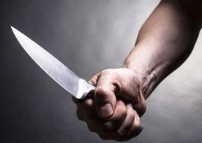 В Бинагадинском районе ранили мужчину среднего возраста