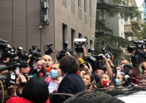 В Грузии между председателями правящей и оппозиционной партий произошла потасовка