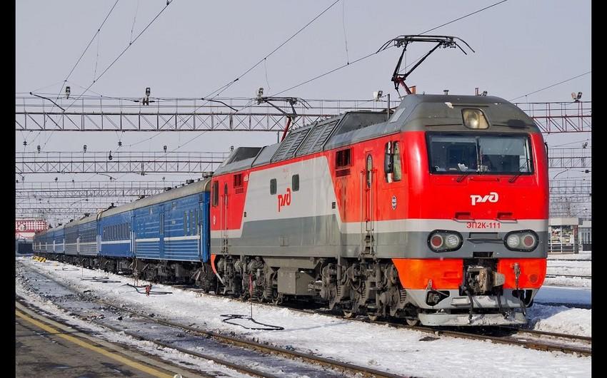 Rusiya Azərbaycanla dəmir yolu əlaqələrini dayandırdı