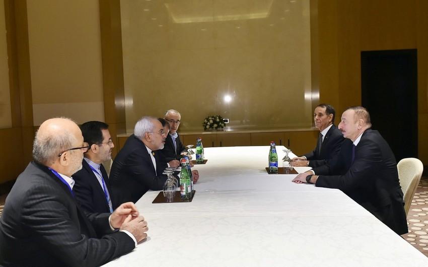 Prezident İlham Əliyev İranın xarici işlər nazirini qəbul edib - ƏLAVƏ OLUNUB