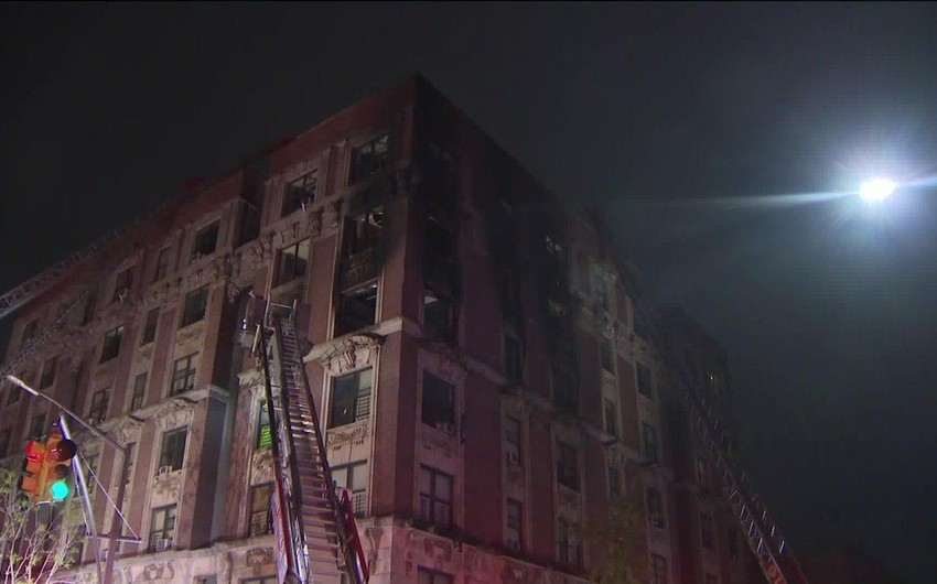 At least six people killed after fire erupts in New York - VIDEO