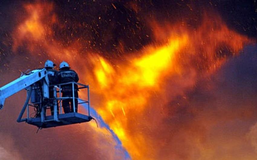 В Эстонии сгорел частный дом, погибла семья из пяти человек