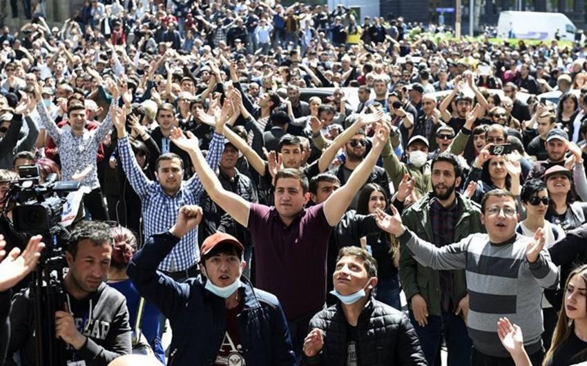 Yerevanda həbs olunan aksiya iştirakçılarının sayı 166-ya çatıb - YENİLƏNİB-2