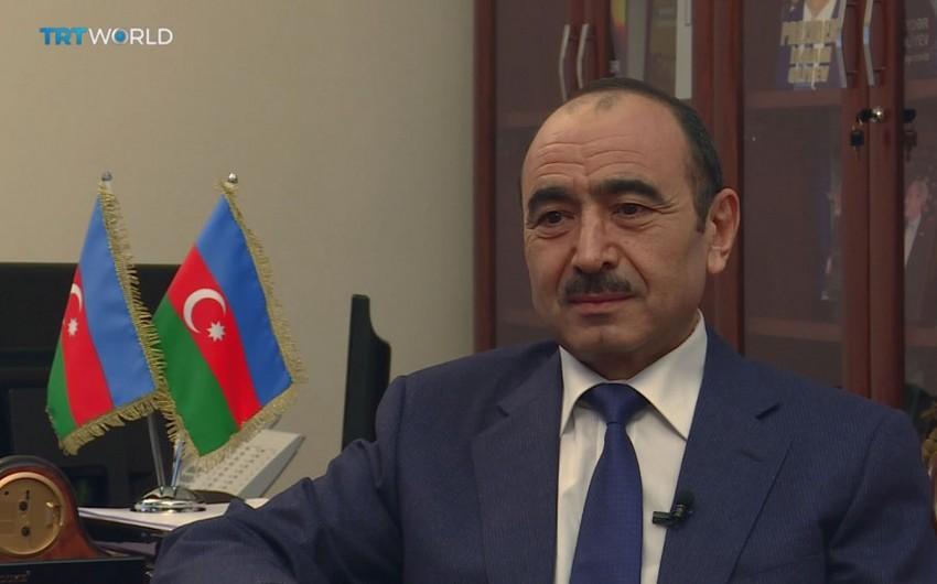 Али Гасанов: Глобальная позиция Азербайджана начала еще более отчетливо проявляться в Европе