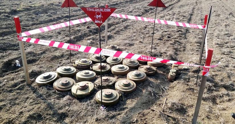 На освобожденных землях уничтожено более 16 тыс. мин и неразорвавшихся боеприпасов