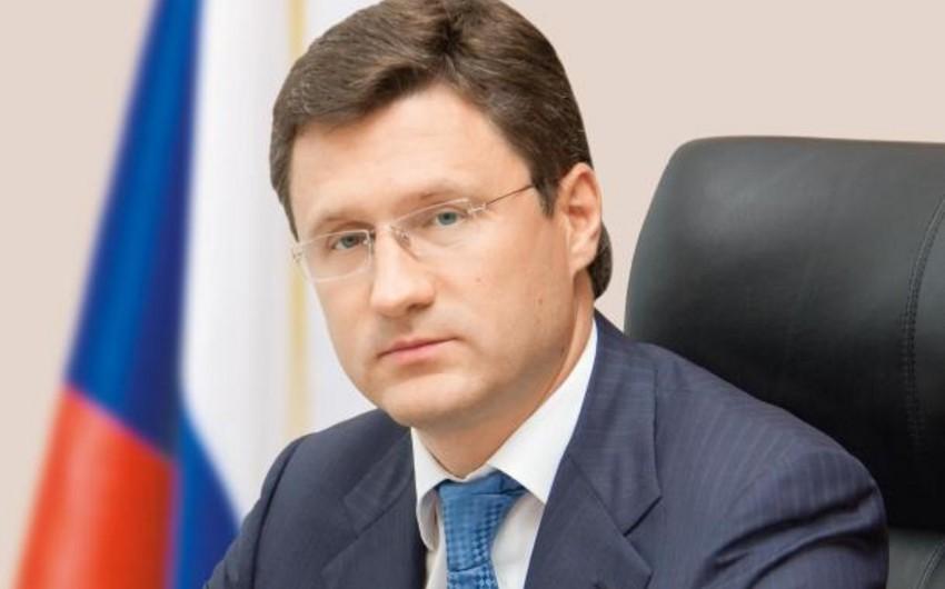 Aleksandr Novak: Rusiya Türk axını layihəsinin reallaşdırılmasına hazırdır