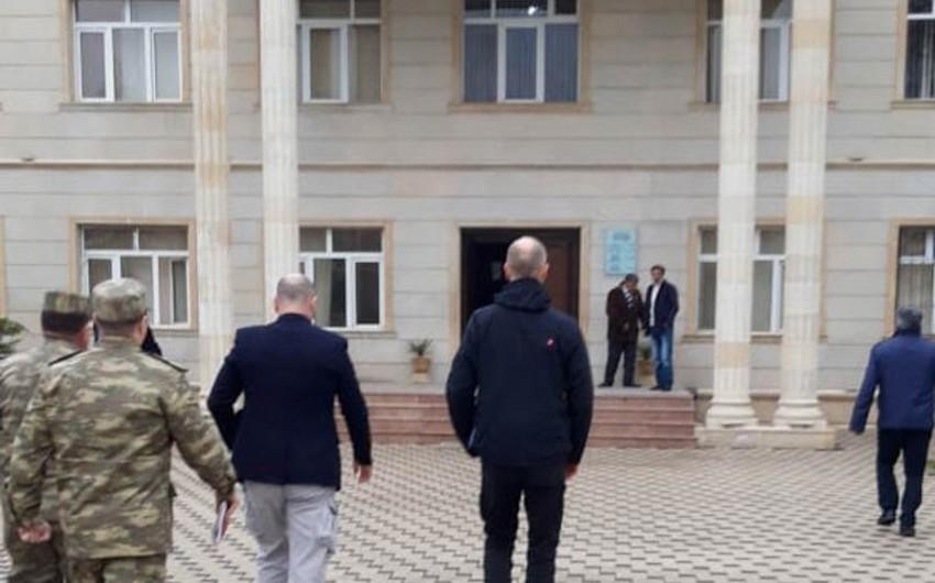 Təmas xəttində monitorinq keçirən ATƏT nümayəndələri Ağdam Rayon İcra Hakimiyyətində olublar - FOTO