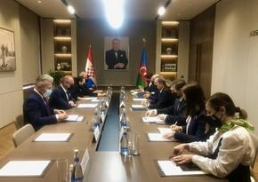 Главы МИД Азербайджана и Хорватии обсудили перспективы развития сотрудничества