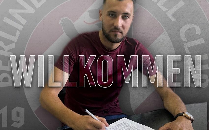 """Azərbaycan milli komandasının sabiq futbolçusu Berlin """"Dinamo""""sunda çıxış edəcək"""