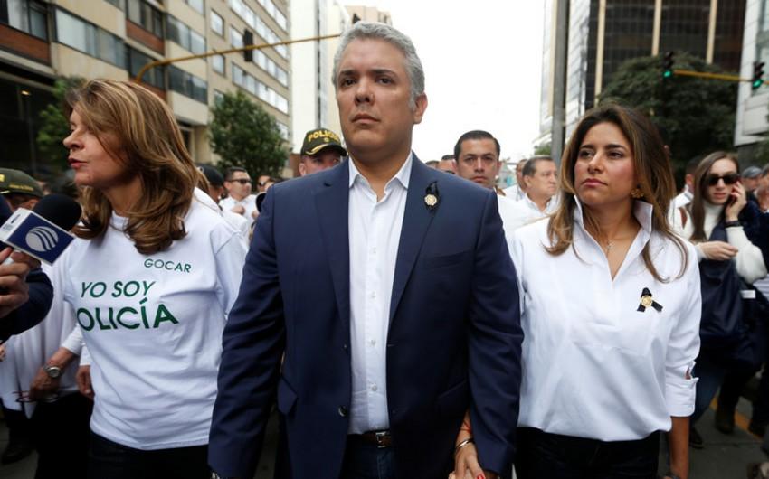 Kolumbiya prezidentinin xanımında virus aşkarlandı