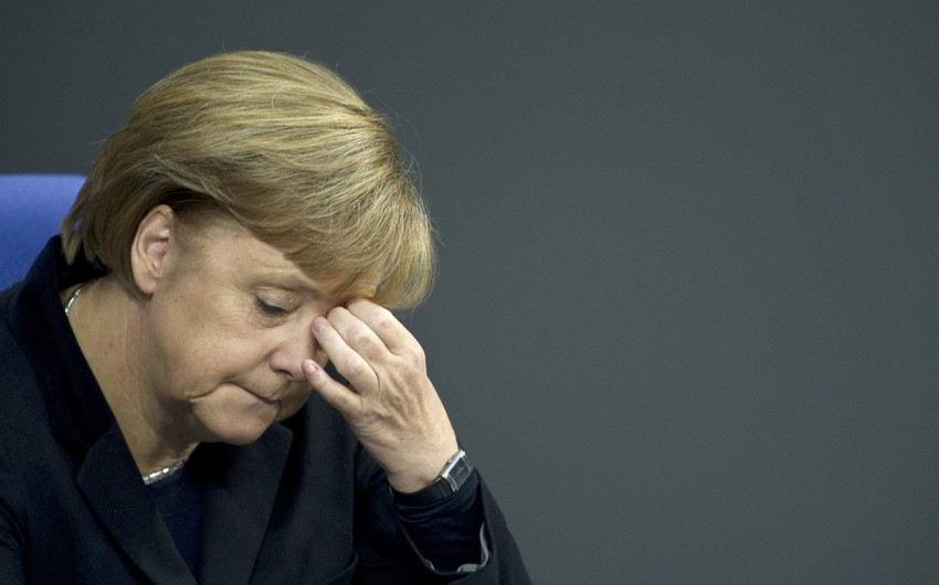 Merkel felt unwell at a meeting with Zelensky