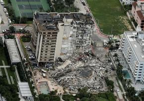 Floridada dağılan binada ölənlərin sayı 98 nəfərə çatdı