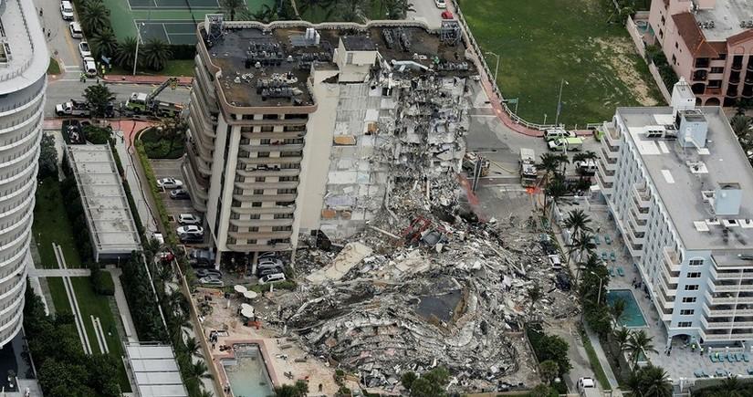 ABŞ-da dağılan binada ölənlərin sayı 98 nəfərə çatdı