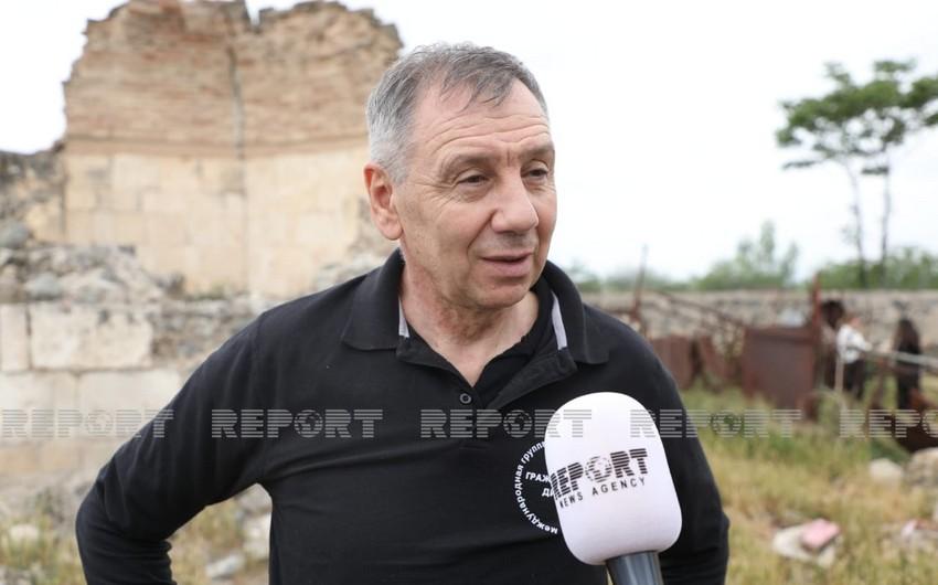 Sergey Markov: Ağdamdakı barbarlıqdan heyrətləndik