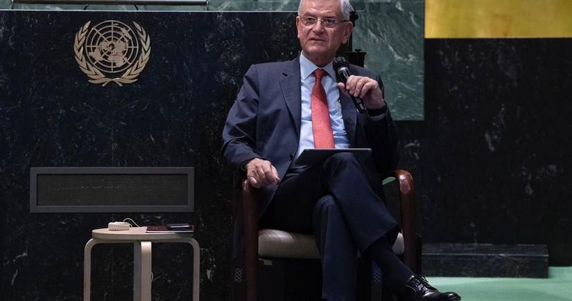"""BMT Baş Assambleyasının prezidenti """"erməni soyqırımı"""" iddialarına cavab verib"""