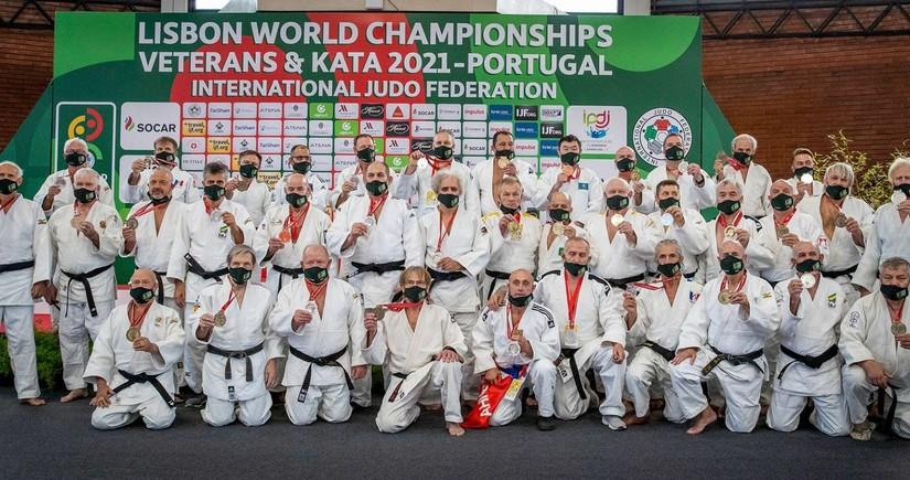 Azərbaycanın veteran cüdoçuları dünya çempionatında daha 4 medal qazanıb