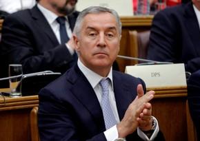 Monteneqro prezidenti xəstəxanaya yerləşdirilib