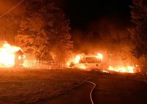 Kaliforniyada meşə yanğınları nəticəsində 8 nəfər itkin düşüb
