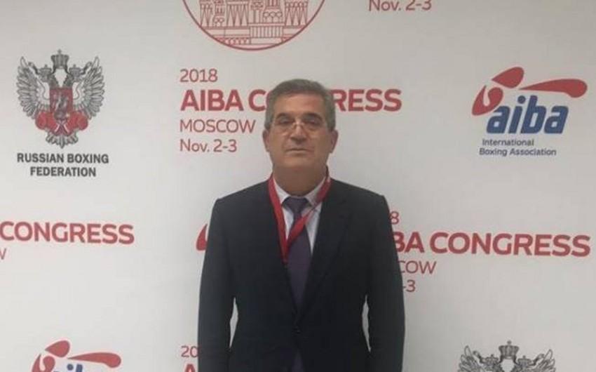 Azərbaycan Boks Federasiyasının vitse-prezidenti AİBA-nın büro üzvü seçilib