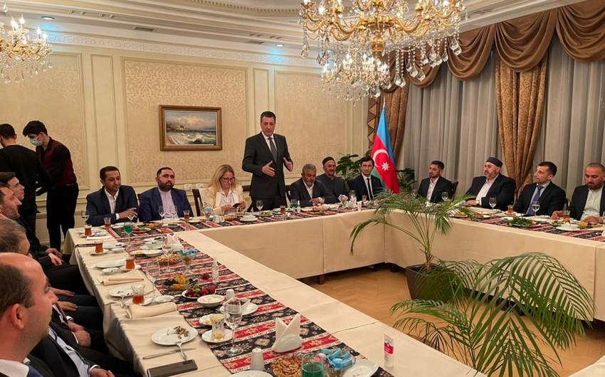 Azərbaycanın Gürcüstandakı səfirliyi iftar süfrəsi təşkil edib