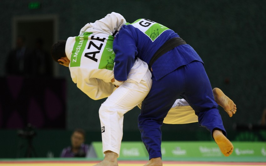 Paralimpiyaçı cüdoçu Zakir Müslümov bürünc medal qazanıb