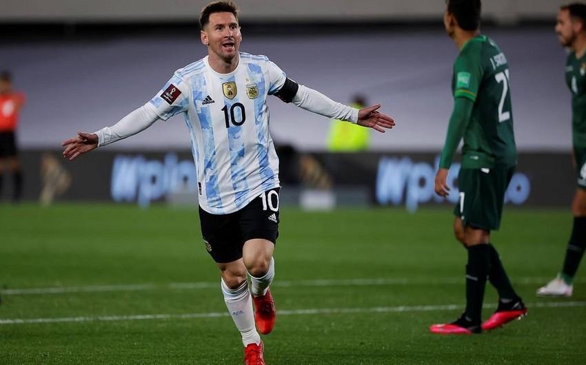 DÇ-2022: Messinin het-triki Argentinaya Boliviya üzərində qələbə qazandırıb