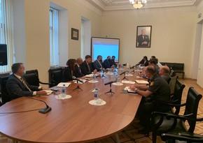 Состоялось очередное заседание Рабочей группы по очистке от мин и неразорвавшихся боеприпасов