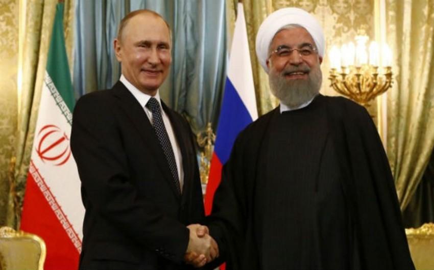 Ankarada Rusiya və İran prezidentlərinin görüşü keçirilir