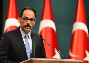 Türkiyə Prezidentinin sözçüsü ABŞ-ın milli təhlükəsizlik müşaviri ilə danışıb