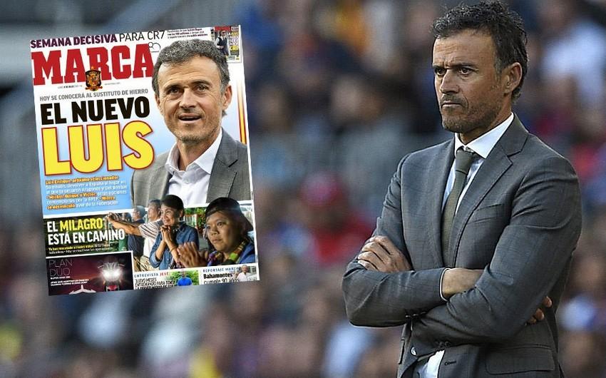 İspaniya milli komandasının yeni baş məşqçisi müəyyənləşib