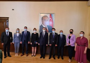 Turkish ambassador meets head of Azerbaijani community of Nagorno-Karabakh