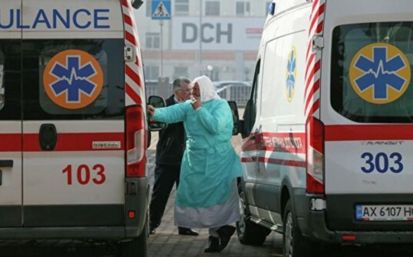 Ukraynada koronavirusa yoluxanların sayı 20 mini ötdü