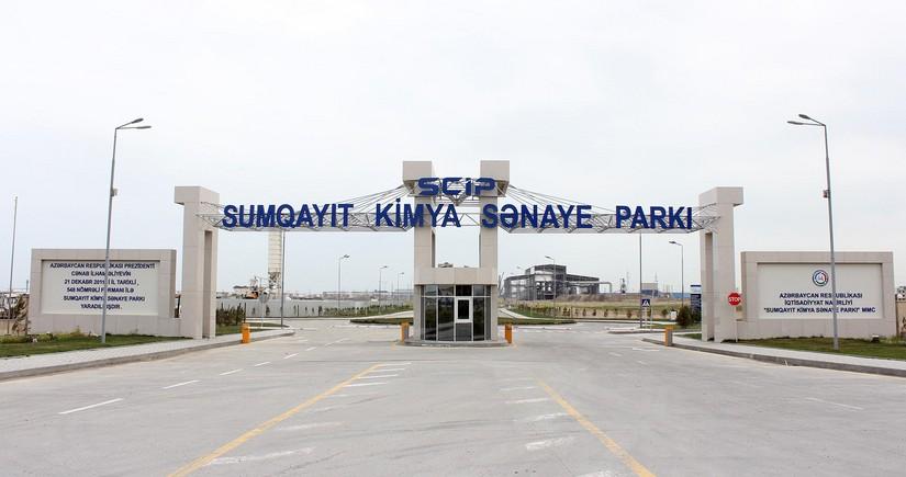 Sumqayıt Kimya Sənaye Parkında yeni rezident