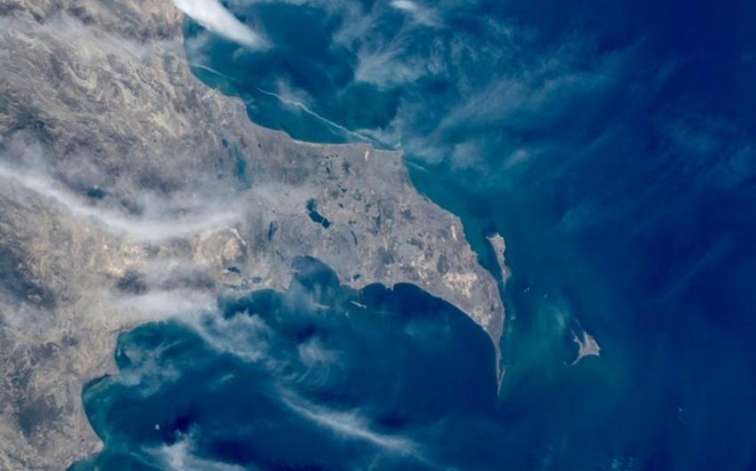 Azərbaycan kosmosdan necə görünür?