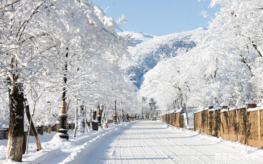 В Азербайджане зима вступила в свои права