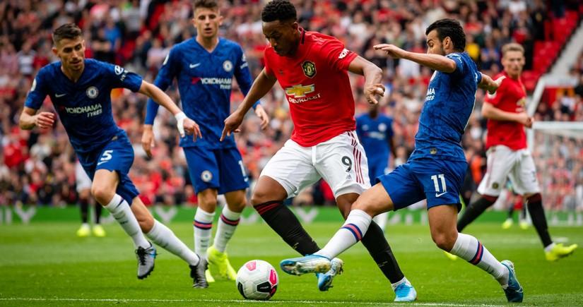 Челси сыграл вничью с Манчестер Юнайтед в матче АПЛ