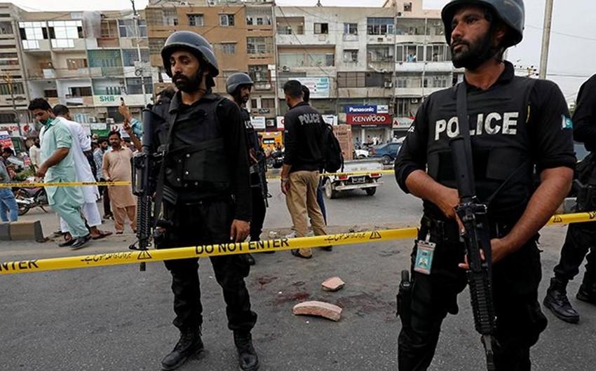 Pakistanda mitinqdə partlayış olub, 6 nəfər ölüb, 14-ü yaralanıb